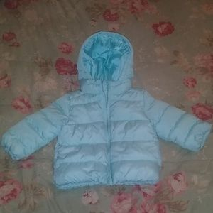 Children's Place baby girl puffer coat. EUC!